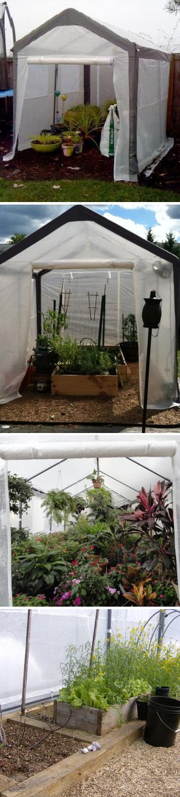 Spring Gardener Gable Portable Greenhouse