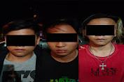 Polres Minahasa Amankan Tiga Spesialis Pencurian Tabung LPG