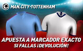 sportium promocion City vs Tottenham 17 agosto 2019