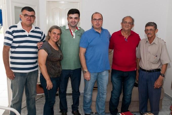 Secretário Guilherme Saldanha é recebido em Jardim do Seridó