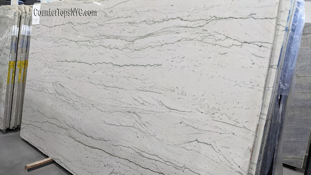 Opus White Quartzite Slabs NYC