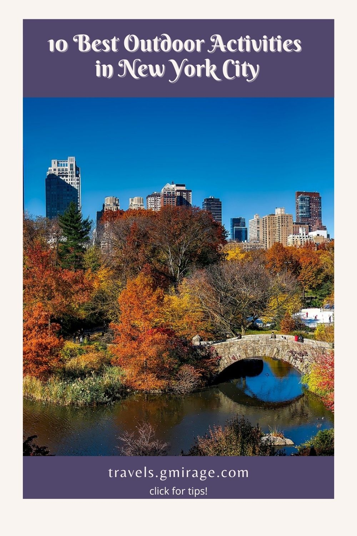 10 Best Outdoor Activities in New York City