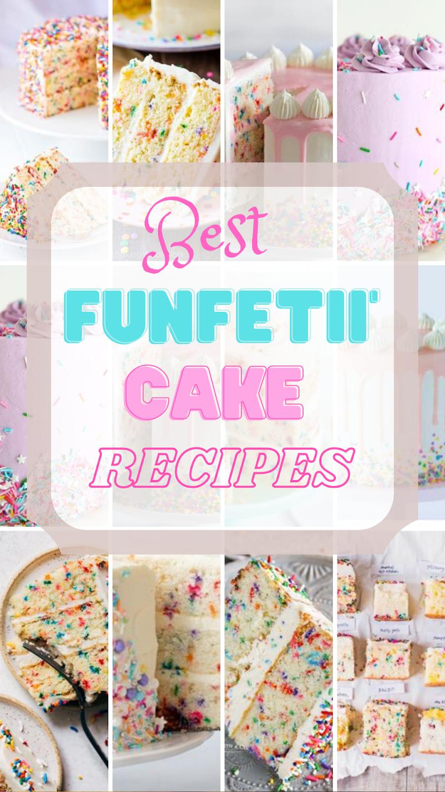 best Funfetti Cake recipes