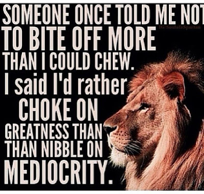 Greatness Mediocrity Quotes