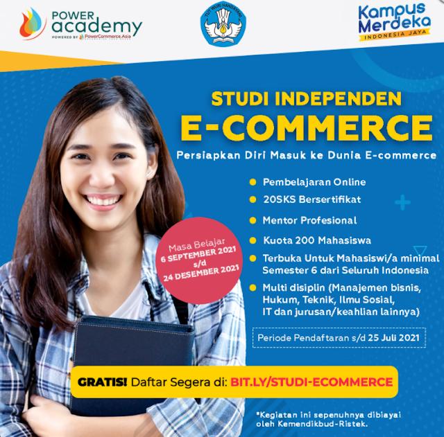 STUDI INDEPENDEN E-COMMERCE