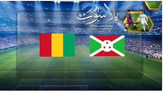 نتيجة مباراة بوروندي وغينيا بتاريخ 30-06-2019 كأس الأمم الأفريقية