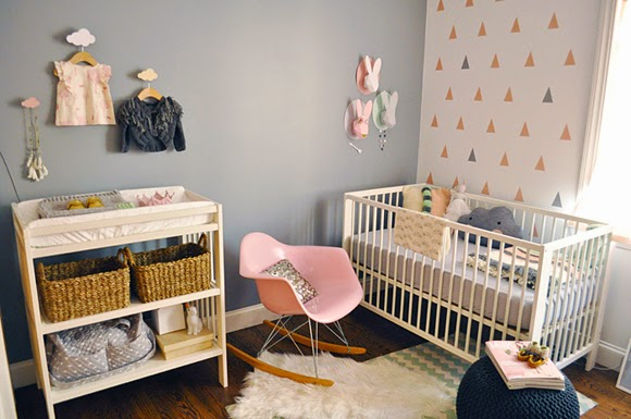 Idea dormitorio bebé niña