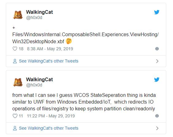 Windows Lite Twitter Update