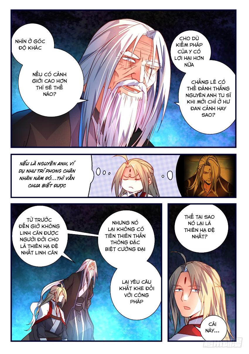 Tung Tiền Hữu Tọa Linh Kiếm Sơn Chap 366 - Trang 4