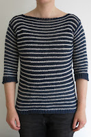 stripy stripey sweater knitting pattern