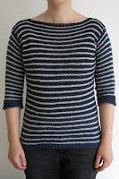 stripy stripey sweater knitting pattern