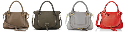 Three of these are Chloe bags for thousands and one is from Sole Society for $65. Can you guess which one is the more affordable bag? Click the links below to see if you are correct!