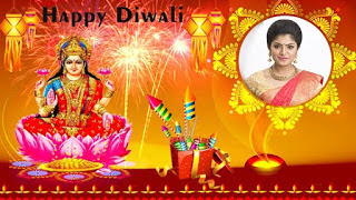 Make your families photo frame photo frame available happy Diwali messages useful application