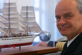 Captain for the Sea Cloud Spirit, Gerald Schöber