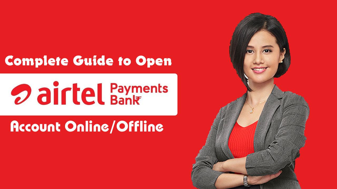 Open Airtel Payments Bank Online/Offline in Hindi