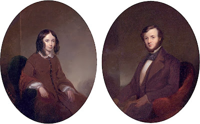 Elizabeth Barrett and Robert Browning
