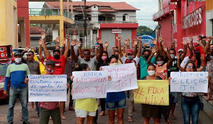 Associados da Colônia de Pescadores em Turilândia (Z83) realizam protesto exigindo eleição para nova Diretoria