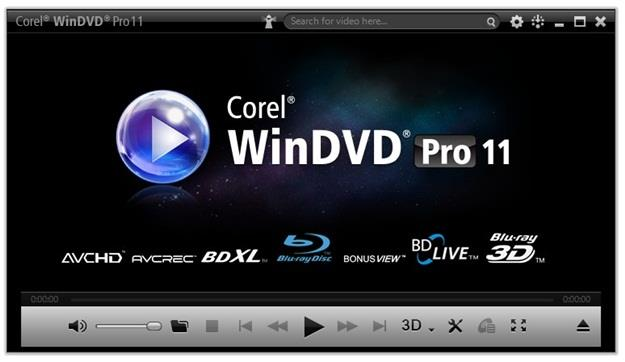 Corel WinDVD v11.7.0.15 + Crack