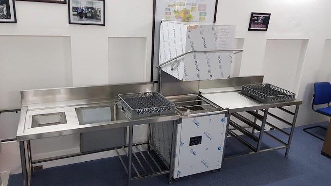 Cung cấp máy rửa bát công nghiệp cho nhà máy