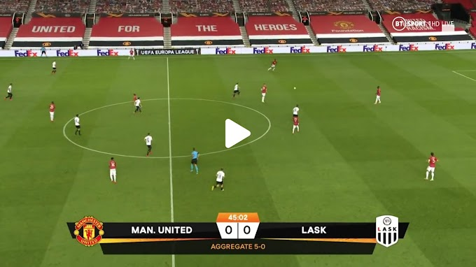 VIDEO: Manchester United 2:1  LASK Linz / Europa League