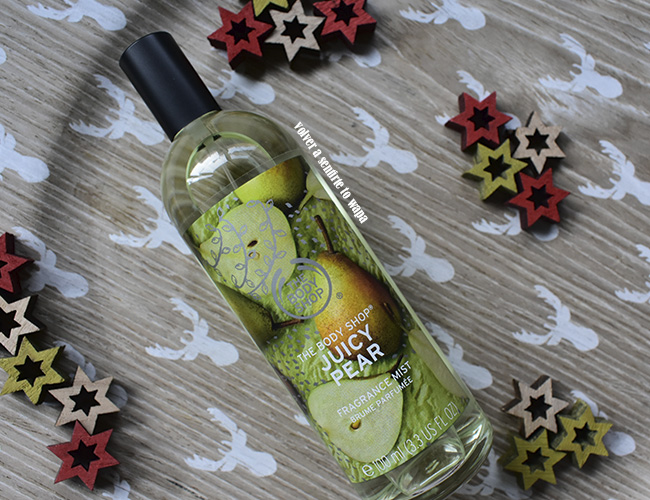 Fragancia Body Mist de Pera - Edición de Navidad de The Body Shop