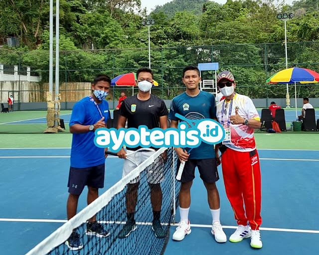 Tenis PON XX Papua: Althaf dkk Petik Kemenangan di Laga Perdana