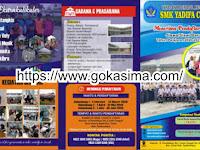 Download Kumpulan Contoh Brosur PPDB.cdr