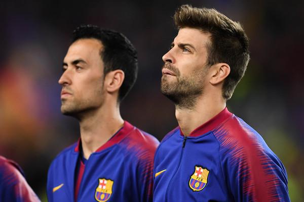 Gerard Pique and Sergio Busquets are laliga players most successful passes in 2019/2010 season