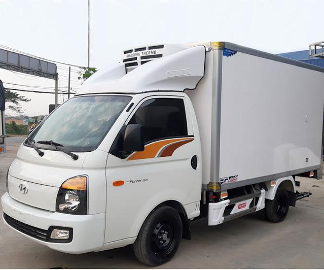 Giá mui lướt gió xe tải đông lạnh 1 tấn