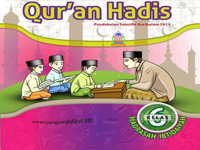 Soal PTS/UTS Qur'an Hadis Kelas 6 SD/MI