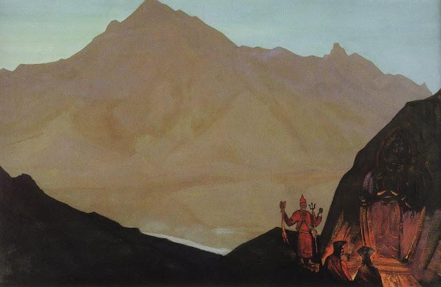 Николай Рерих - Чэнрези. Западный Тибет
