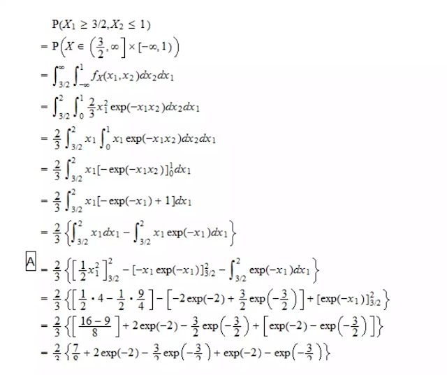 kalkulus probbaility density