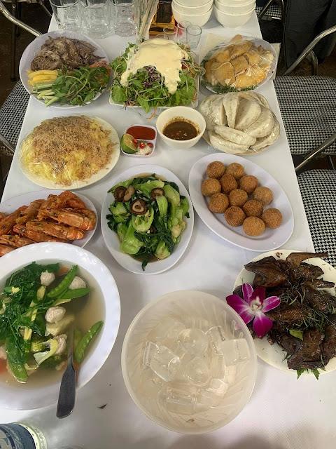 dịch vụ nấu cỗ tại nhà ở chung cư Hateco Xuân Phương