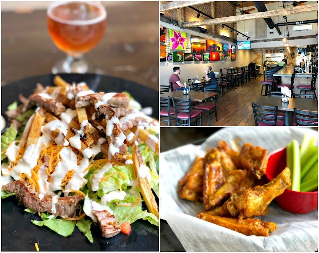 In addition to their house-brewed beers, Restoration Brew Works in Delaware, Ohio offers a full menu of traditional pub fare with a modern, local flair. Their menu is crafted with their fresh brewed beers in mind.