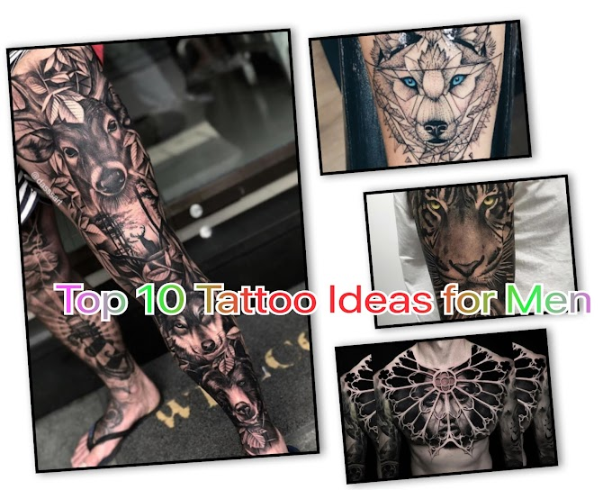 Top 10 Tattoo Ideas for Men