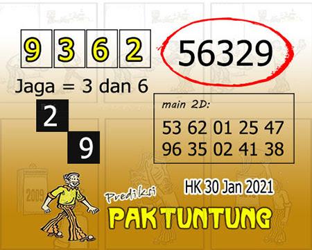 Prediksi Pak Tuntung Hk Sabtu 30 Januari 2021