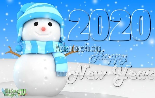 New Year 2020 3D Picture, Photo For Desktop Background