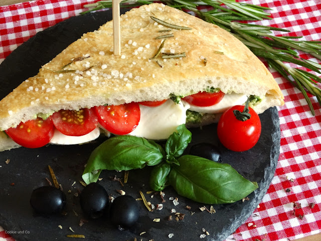 Pizzabrot Sandwich