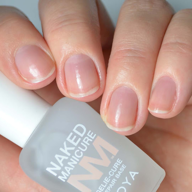 nail polish repair base coat on nails