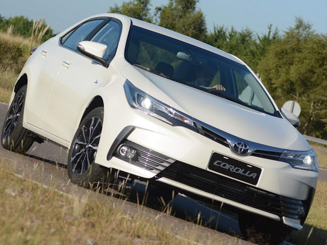 Novo Toyota Corolla 2018 - sedã mais vendido do Brasil