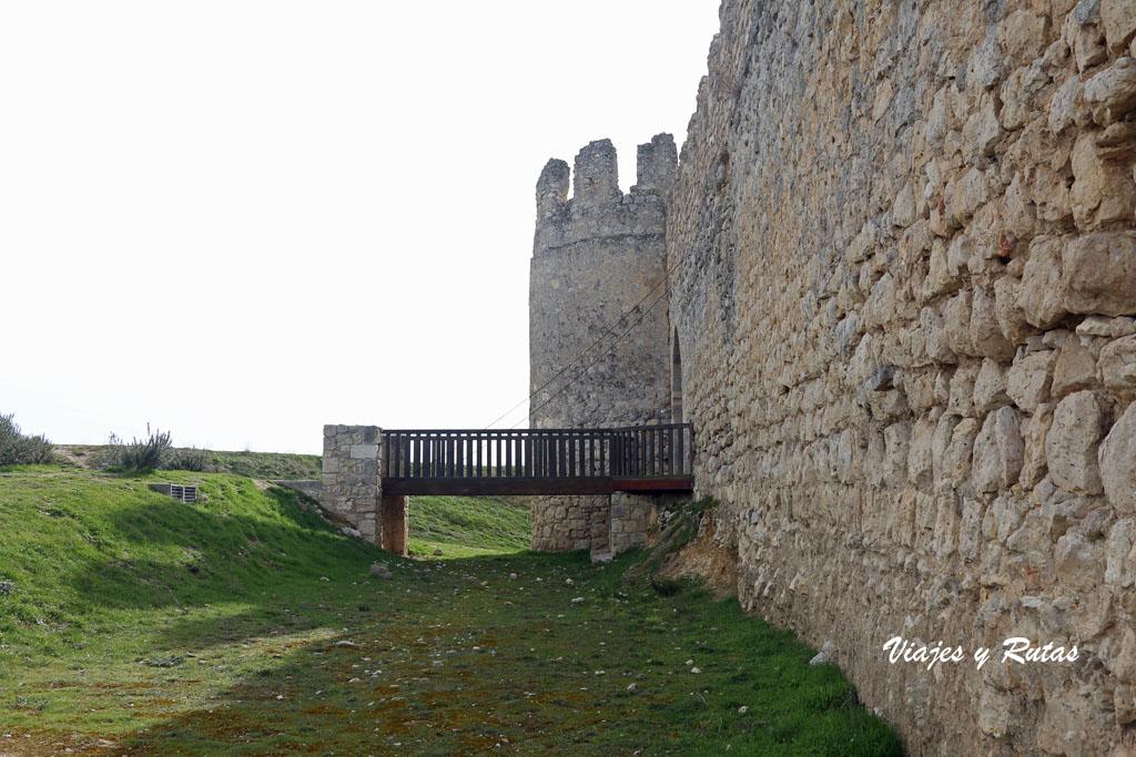 Paso levadizo Castillo de Tiedra, Valladolid