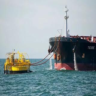 Derrame de petroleo de YPF en San Sebastian