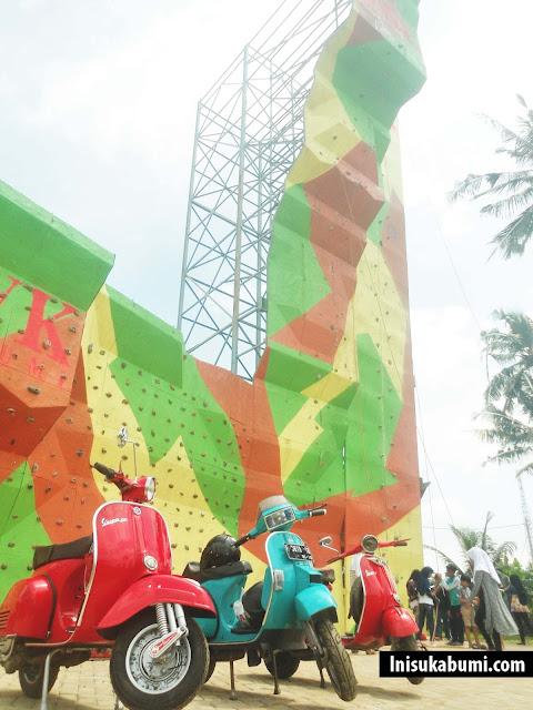 Akasia Clambing Wall GWK Sukabumi