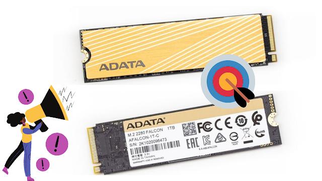نظرة عامة على Adata Falcon M.2 NVMe SSD