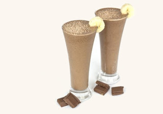 Chocolate and Peanut Butter Shake