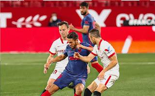 ملخص وهدف فوز اشبيلية علي اتلتيكو مدريد (1-0) الدوري الاسباني