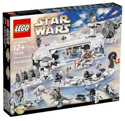 TOYS : JUGUETES - LEGO Star Wars 75098 Asalto a Hoth : Ultimate Collector's Series Producto Oficial Abril 2016 | Piezas: 2144 | Edad: +12 años Comprar en Amazon España & buy Amazon USA