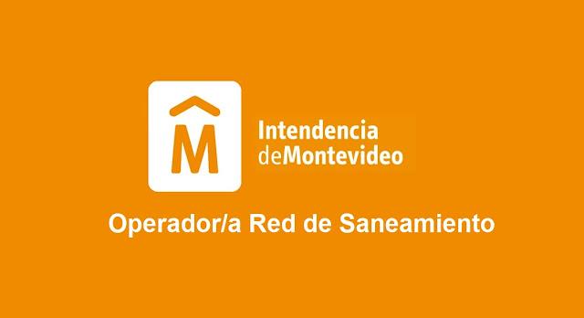 Operador Red de Saneamiento - Intendencia de Montevideo