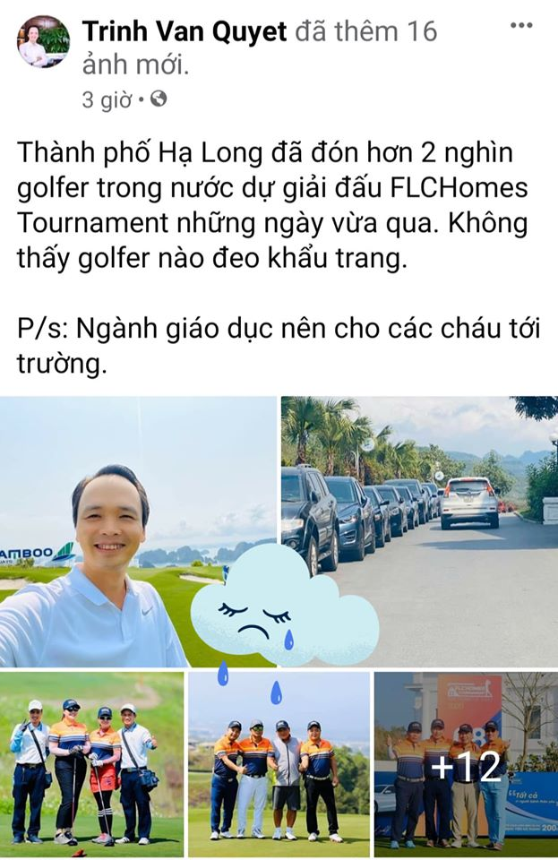 FB Trịnh Văn Quyết phát biểu gây sốc lúc khách sạn và hàng không ế ẩm