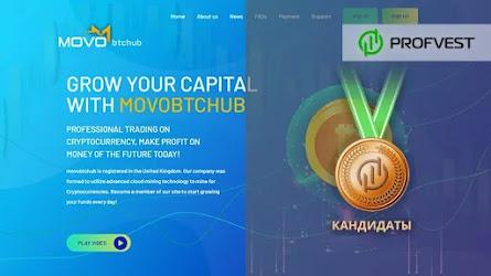Кандидаты: Movobtchub LTD – 18% чистой прибыли за 3 дня!